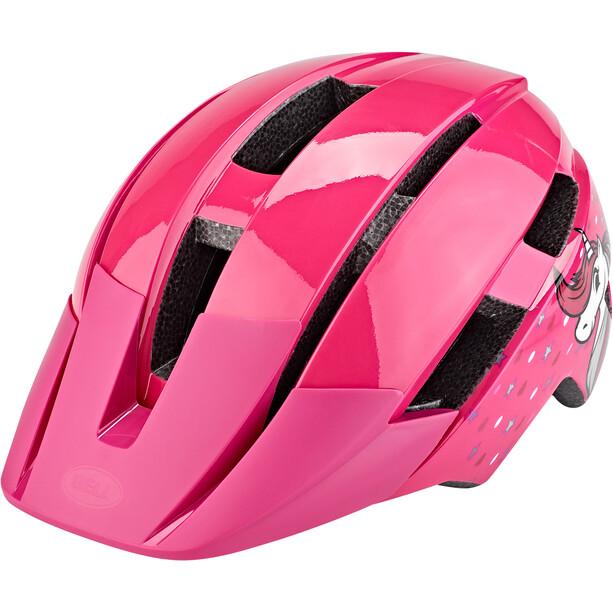 Bell Sidetrack II Helm Kleinkind pink unicorn