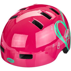 BELL Lilper ヘルメット キッズ ピンク ハート ※当店通常価格\6790(税込)