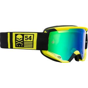 Bell Descender Goggles matte hi-viz/black crossbones matte hi-viz/black crossbones