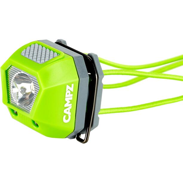 CAMPZ Mini Stirnlampe grün/schwarz