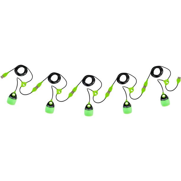 CAMPZ USB Beleuchtungssystem grün/schwarz