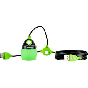 CAMPZ USB Sistema Iluminación, verde/negro verde/negro