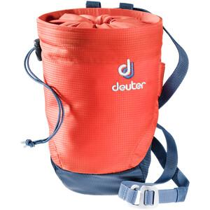 Deuter Gravity Chalk Bag II L papaya-navy papaya-navy
