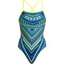 Funkita Strapped In One Piece Badeanzug Damen ice queen