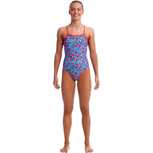 Funkita Strapped In One Piece Badeanzug Mädchen fly free fly free