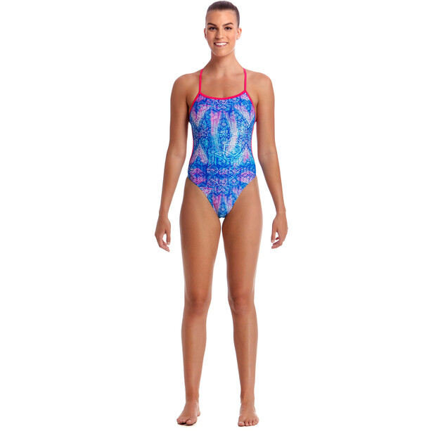 Funkita Twisted One Piece Badeanzug Damen dye tie