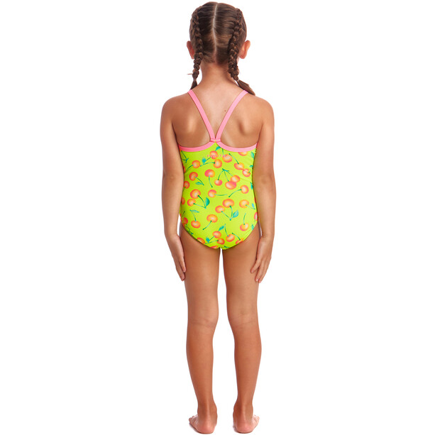 Funkita Printed One Piece Swimsuit Toddler cherry top