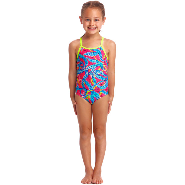 Funkita Eco One Piece Swimsuit Toddler squeaky squid