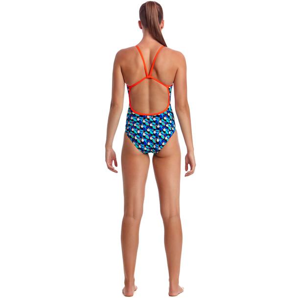 Funkita Eco Single Strap One Piece Badeanzug Damen touche