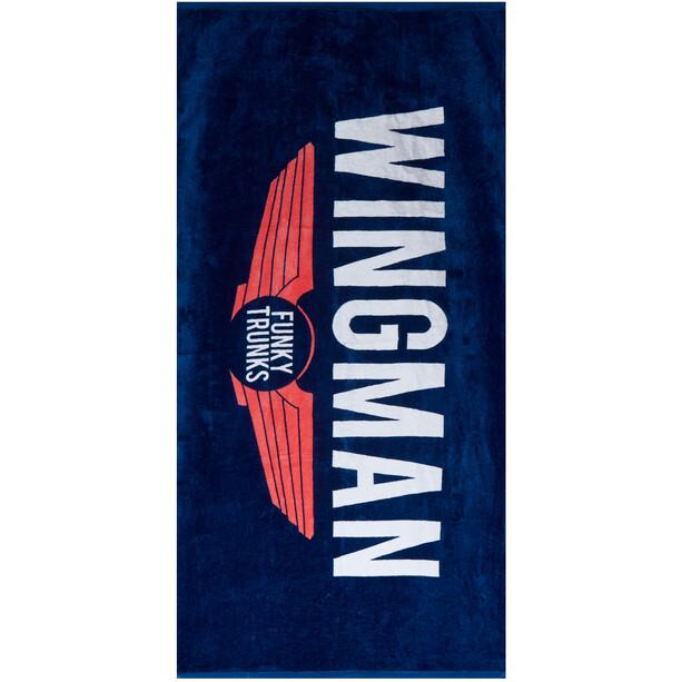Funky Trunks Towel navy wingman