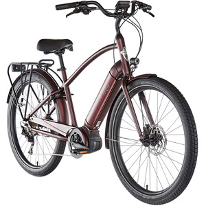 """Electra Townie Path Go! 10D Step Over 27,5"""" rot rot"""