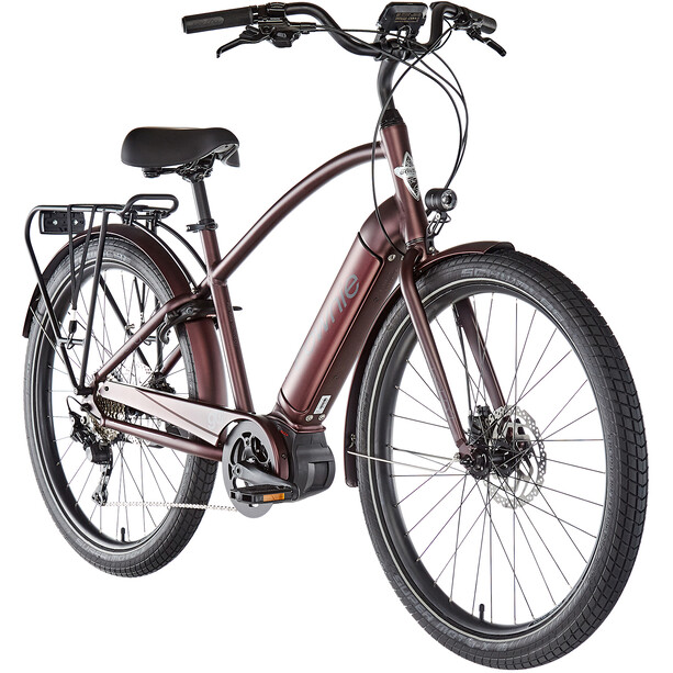 "Electra Townie Path Go! 10D Step Over 27,5"" matte oxblood"