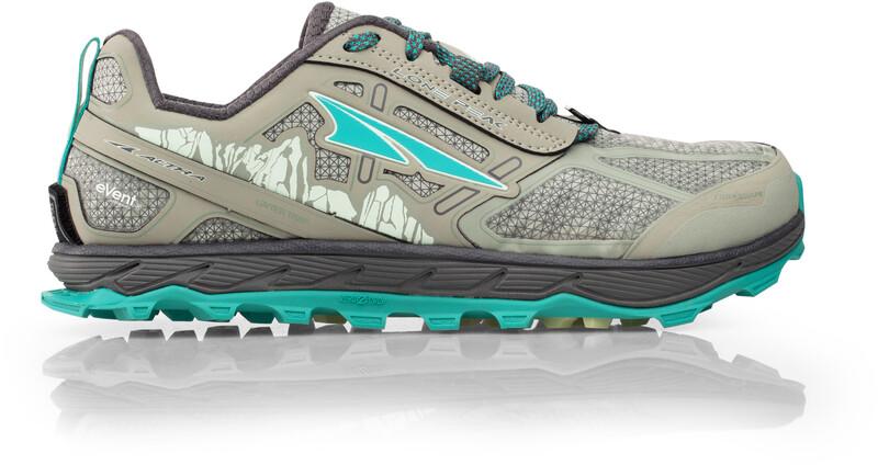 Altra Lone Peak 4 Low Running Shoes Dame gray US 6   EU 37 2020 Terrengløpesko