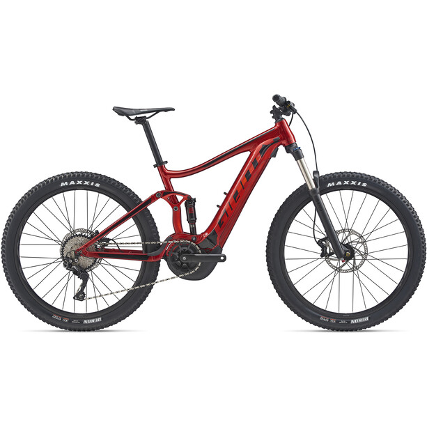 Giant Stance E+ 2 metallic red/solid black