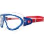 speedo Biofuse Rift Lunettes de protection Enfant, bleu/rouge