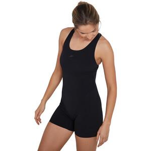 speedo Essential Endurance+ Legsuit Lahkeellinen Uimapuku Naiset, black/oxid grey black/oxid grey