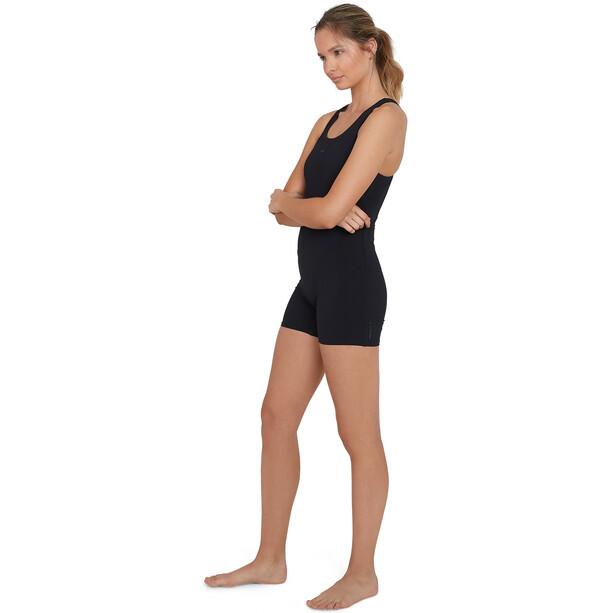 speedo Essential Endurance+ Legsuit Lahkeellinen Uimapuku Naiset, black/oxid grey