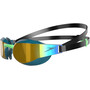 speedo Fastskin Elite Mirror Goggles black/nordic teal/gold