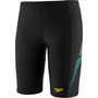 speedo Plastisol Placement Jammer Jungen black/turquoise/empire yellow