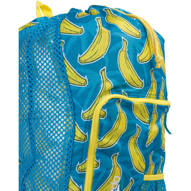 speedo Deluxe Ventilator Mesh Beutel 35l blue/yellow print