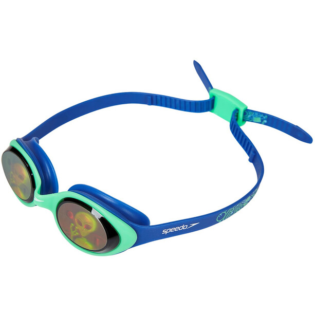 speedo Illusion 3D Printed Brille Kinder ultrasonic/green/alienhologram