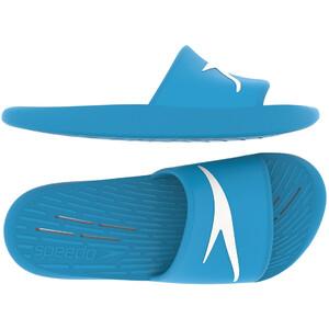speedo Slipper Kinder blau blau