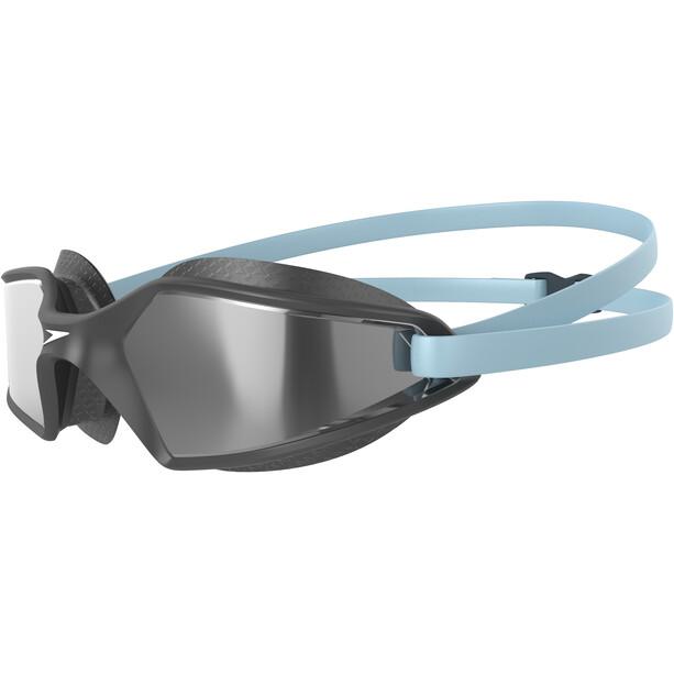 speedo Hydropulse Mirror Svømmebriller, grå/blå
