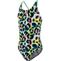 speedo JungleSpeak Allover Maillot de bain à nouer dans le dos Fille, junglespeak black/white