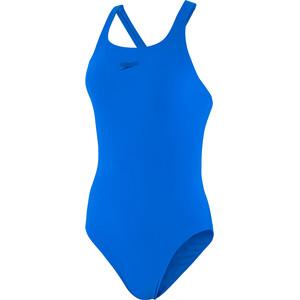 speedo Essentials Endurance+ Medalist Badeanzug Damen blau blau