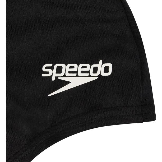 speedo Polyester Cap Kinder black