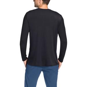 VAUDE Sveit Langarm T-Shirt Herren black/black black/black