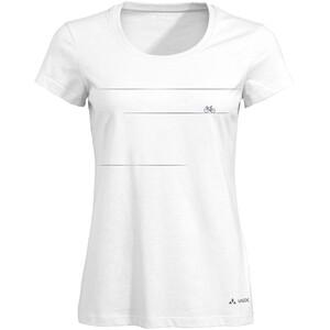 VAUDE Cyclist V T-Shirt Women white uni white uni