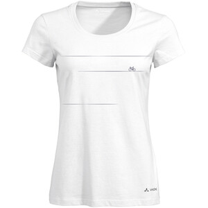 VAUDE Cyclist V T-Shirt Damen white uni white uni