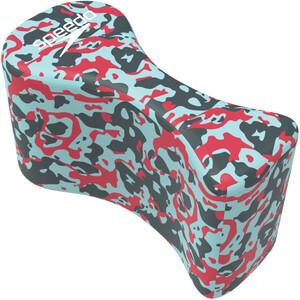 speedo Elite Pullbuoy lava red/chill blue/grey lava red/chill blue/grey