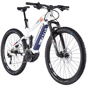 HAIBIKE SDURO FullNine 5.0 white/orange/blue white/orange/blue