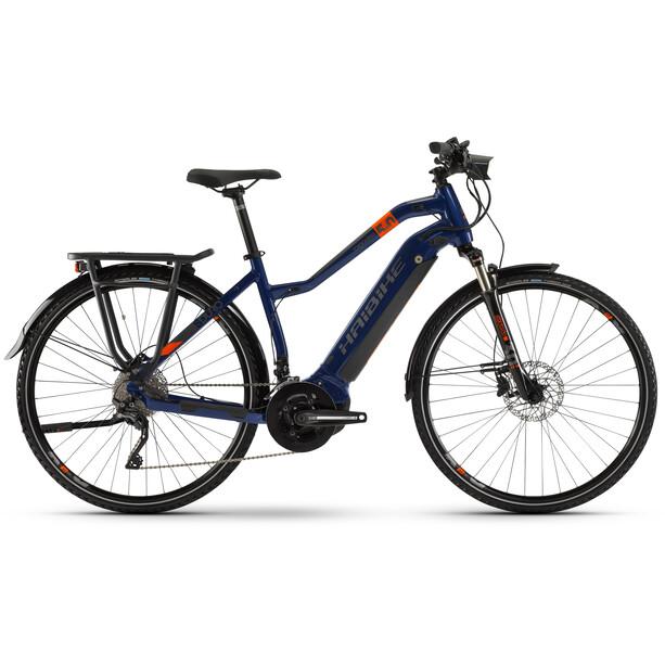 HAIBIKE SDURO Trekking 5.0 Damen blue/orange/titan