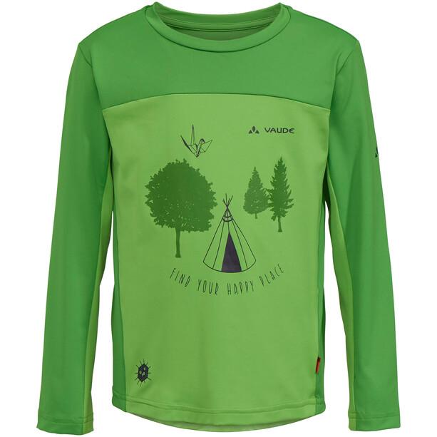 VAUDE Solaro LS T-Shirt Barn apple