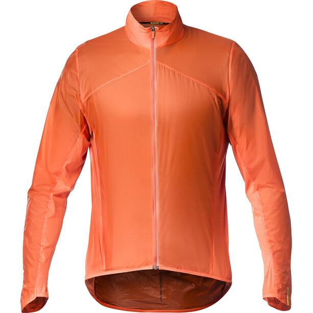 Mavic Sirocco SL Jacke Herren red-orange