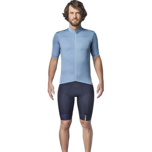 Mavic Essential Kurzarm Trikot Herren blue shadow blue shadow