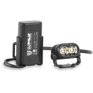 Lupine Piko Helmet Lamp 3.5 Ah FastClick, czarny czarny