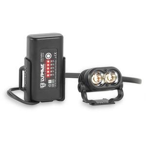 Lupine Piko Helmlampe 3.5 Ah SmartCore schwarz schwarz