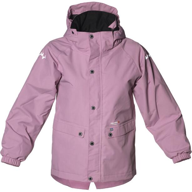Isbjörn Cyclone Hard Shell Parka Kinder dusty pink