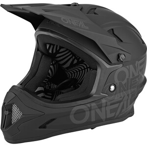 O'Neal Backflip Helm Solid black black