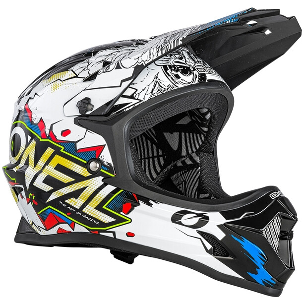 O'Neal Backflip Helm Villain white