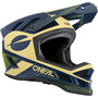 O'Neal Blade Polyacrylite Helm Ace blue/beige/green