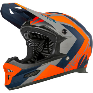 O'Neal Fury Helm Hybrid blue/orange blue/orange
