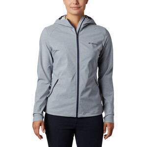 Columbia Heather Canyon Softshell Jacke Damen tradewinds grey heather tradewinds grey heather