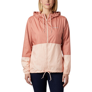 Columbia Flash Forward Windbreaker Jacke Damen cedar blush/peach cloud cedar blush/peach cloud