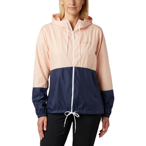 Columbia Flash Forward Windbreaker Jacke Damen peach cloud/nocturnal/white peach cloud/nocturnal/white