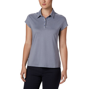 Columbia Peak To Point II Polo Damen new moon heather new moon heather